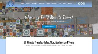 Guest Post on Home - 10 Minute Travel