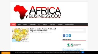 Guest Post on AfricaBusiness.com - Afri