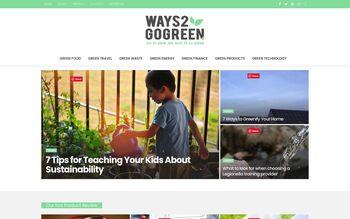 Guest Post on Ways2Gogreenblog.Com