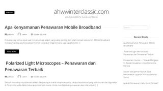 Guest Post on Ahwwinterc - Kumpulan Ber