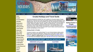 Guest Post on Croatia Holidays and Trav