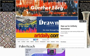 Guest Post on Artdaily.com