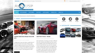 Guest Post on Auto Blog and Auto News
