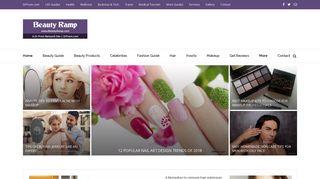 Guest Post on Beauty Ramp - Beauty & Fa