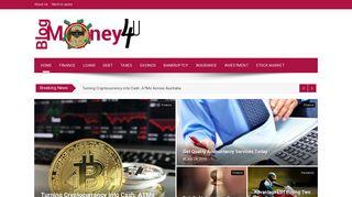 Guest Post on Blog Money 4 U