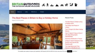 Guest Post on Britain Outdoors Travel B