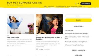 Guest Post on Buy Pet Supplies Online
