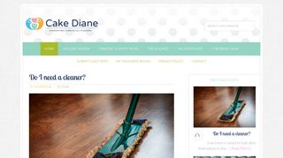 Guest Post on Cake Diane - A modern fam