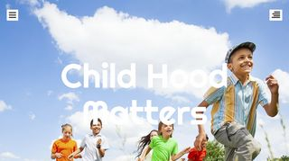 Guest Post on Child Hood Matters