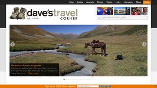 Guest Post on Dave's Travel Corner - Se