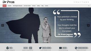 Guest Post on Dr Prem Jagyasi - Award W