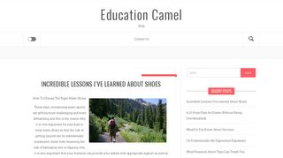 Guest Post on Education Camel