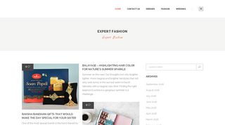 Guest Post on Expert Fashion