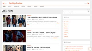 Guest Post on Fashion Couture
