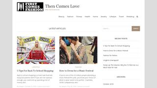 Guest Post on Then Comes Love ? After t