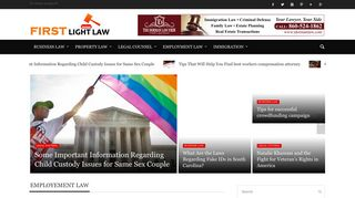 Guest Post on First Light Law - Legal B