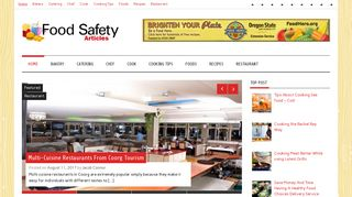 Guest Post on Food Safety Articles