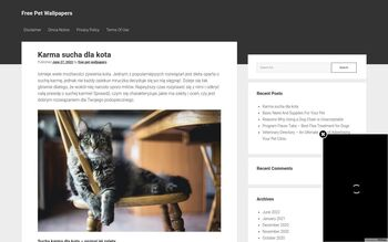 Guest Post on Free pet wallpapers