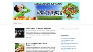Guest Post on Healthy Living