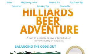 Guest Post on Hilliardsbeer.com -