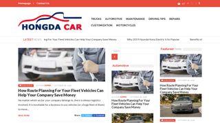 Guest Post on Hongda Car