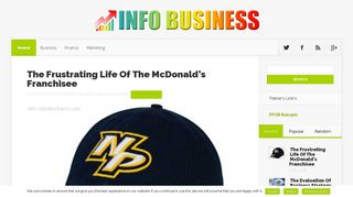 Guest Post on Info Business