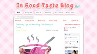 Guest Post on Ingoodtasteblog ? replace