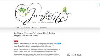 Guest Post on Jungleoflife
