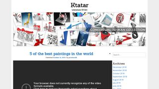 Guest Post on Ktatar