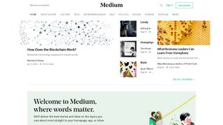 Guest Post on Medium