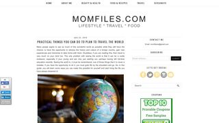Guest Post on Momfiles