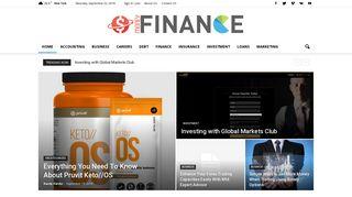 Guest Post on Money Finance