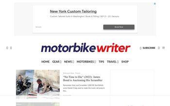 Guest Post on Motor Bike Writer