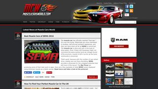 Guest Post on Muscle Cars World