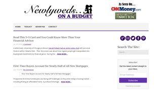 Guest Post on Newlywedsonabudget