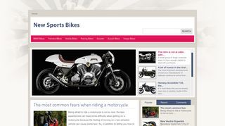Guest Post on New Sports Bikes