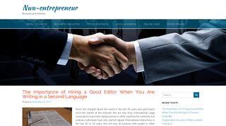 Guest Post on Nwaentrepreneur