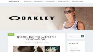 Guest Post on Oakleyosgoggles