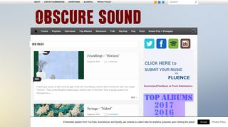 Guest Post on Obscuresound