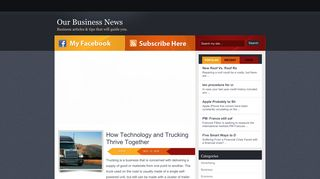 Guest Post on Our Business News