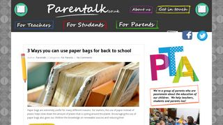 Guest Post on Parentalk - Just another