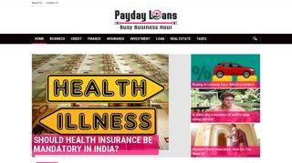 Guest Post on Payday Loans Busy Busines