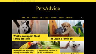 Guest Post on Pets Advice