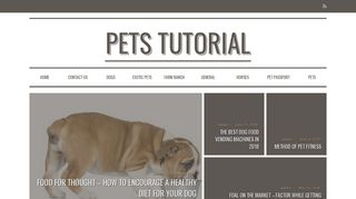 Guest Post on Pets Tutorial