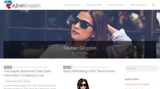 Guest Post on Raybanosgoggles.us