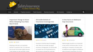 Guest Post on Safety Insurance