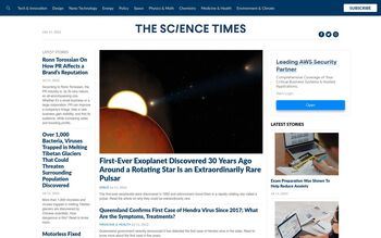 Guest Post on Sciencetimes.com