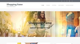 Guest Post on Shopping Fame