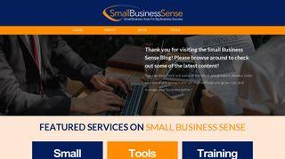 Guest Post on Small-bizsense