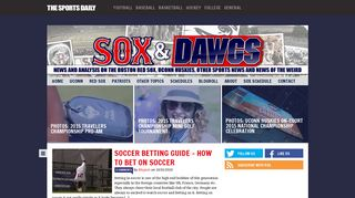 Guest Post on Sox and Dawgs | A UConn H